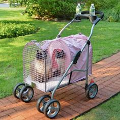 Kittywalk Fifth Ave Pink Pet Stroller SUV (KWPS PINK SUV)