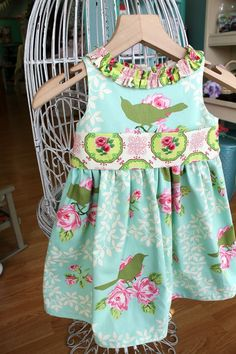 Spring  Easter Dress  Garden District Vintage by LottieDaBaby, $60.00