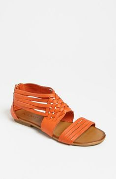 274a42dd54cd Orange Huarache Sandals!! Inuovo Woven Sandal from Nordstrom