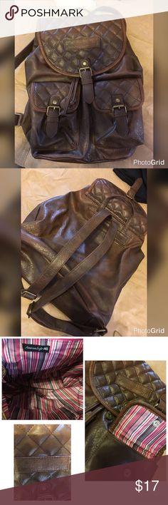 American Eagle Brown New Used Backpack 🎒 American Eagle Backpack 🎒 Brown 🎒 Never used American Eagle Outfitters Bags Backpacks