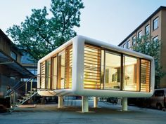 Tiny Space-Age LoftCube Prefab can Pop Up Just About Anywhere   Inhabitat - Sustainable Design Innovation, Eco Architecture, Green Building