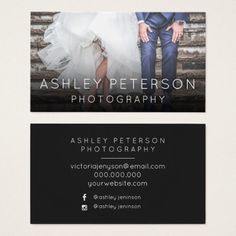 306 best photographer business cards images on pinterest simple wedding photography minimal typography business card colourmoves