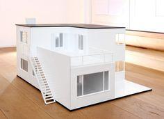 Arne Jacobsens hus som dukkehus