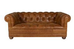 Radley Leather 2 Seater Sofa - Laura Ashley made to order