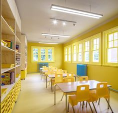 Rosemary Works by Aberrant Architecture Each area of the school has been painted…
