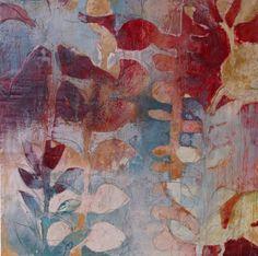 Palm in Winter by Jody Hewitt Brimhall (Encaustic Painting) | Artful Home