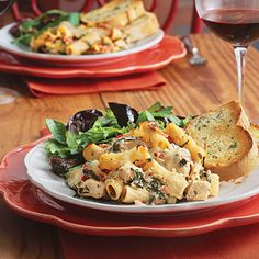 Chicken and spinach pasta bake.....I made this for Xmas and it was delicious....although this photo is from southern living...mine looked just as yummy!