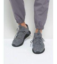 1bd4d8d1c7d1 Adidas Tubular Doom Sock Primeknit Men Shoes Grey Four F17 Core Black Ftwr  White By3564 Outlet