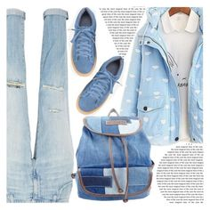 """""""puffer jacket"""" by shoaleh-nia ❤ liked on Polyvore featuring Current/Elliott and UNIONBAY"""