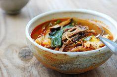Yukgaejang (Spicy Beef Soup with Vegetables) - Korean Bapsang