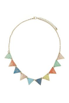 Bunting Necklace: I think I've missed this, can't find it on the Topshop website...gutted.