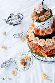 Shooting inspiration mariage Sweet Dream gateau de fleurs - modaliza photographe
