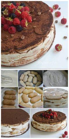 #pasta #pastatarifleri #yemektarifleri #foods #recipes #pie Turkish Recipes, Ethnic Recipes, Trifle, Tiramisu, Delicious Desserts, Pie, Favorite Recipes, Homemade, Cooking