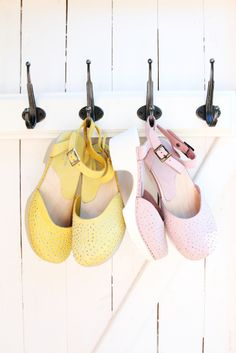 lovely swedish clogs by Calou