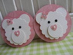 Cute for a baby girls card