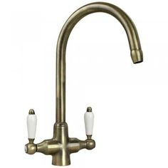 Abode Melford Antique Bronze Monobloc Kitchen Sink Mixer Tap AT1043 ...
