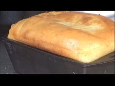 Baking Bread in Cast Iron on the Grill - Lodge Cast Iron Loaf Pan Pan Bread, Loaf Pan, Bread Baking, Bread Recipes, Baking Recipes, Cast Iron Bread, Basic Bread Recipe, Weber Kettle, Lodge Cast Iron