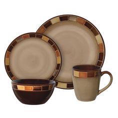 MEGA-69820.16-Gibson 69820.16 Dinnerware Set Casa Estebana Series 16 Pc (MEGA 69820.16) | RetailStores.com | Online Shopping for Home, Office & Outdoors and so much more