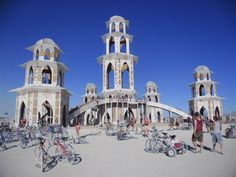 The Temple @ Burning Man 2011, Black Rock City, Nevada