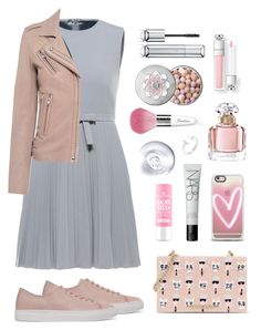 """""""Pretty grey"""" by nataliyabay ❤ liked on Polyvore featuring Axel Arigato, Karl Lagerfeld, Guerlain, Casetify, NARS Cosmetics, RED Valentino and IRO"""