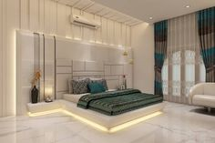 Master Bedroom: modern Bedroom by K Mewada Interior Designer
