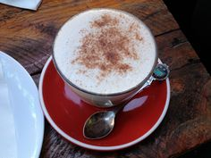 Chai Latte @ Roost (Kelvin Grove, QLD)  http://edesianfeast.blogspot.com.au/2013/07/roost-kelvin-grove-qld.html