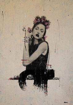 FRIDA II / 135 x 90 cm / acrylic on canvas / 2012