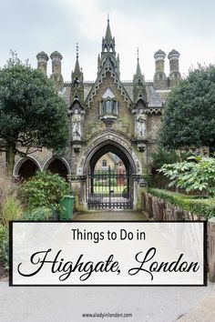 Highgate, London is a lovely village on the border of Hampstead Heath.