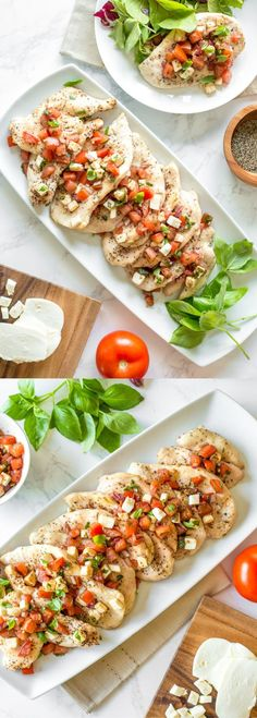 FOOD RECIPES GRILLED CHICKEN BRUSCHETTA | I've made this recipe dozens of times last summer; now that it is starting to get warmer again here in Canada I decided to try it out again. This recipe is absolutely delicious and is amazing at being guilt-free for when you want (need) seconds. Keeps me full from dinner until breakfast the next ... #Bruschetta, #Chicken, #Delicious, #FoodRecipes, #Grilled