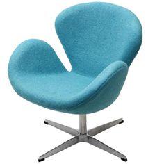 blue swan chair