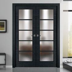 Double Exterior Commercial Glass Doors Ellison Bronze