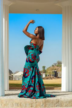 African Party Dresses, Long African Dresses, Latest African Fashion Dresses, African Print Fashion, African Wear, African Attire, African Outfits, Long Dresses, Lace Styles For Wedding