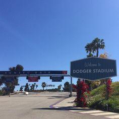 THINK BLUE: Dodger Stadium #dodgers #dodgerstadium #dtla #la #losangeles #california by wdwusmad4life