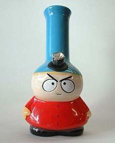 SouthPark Cartman Bong Glass Pipes And Bongs, Glass Bongs, Head Shop, Cool Pipes, Water Bongs, Colored Smoke, Puff And Pass, Smoke Shops, Smoking Weed