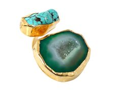 Tale of Two Stones Ring by Zariin