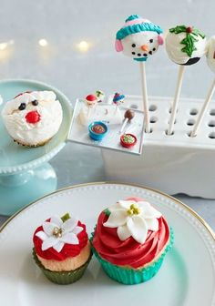 We're a little Hallmark Keepsake ornament crazy around here. So crazy we made some real holiday treats inspired by some sweet ornaments! Take a look for a cute Christmas idea.