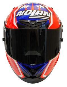 Casque X-802RR Carbon fitting Nolan de face