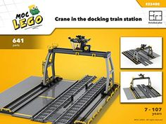 Amazon.com: Train Docking Station (Instruction Only): MOC LEGO eBook: Bryan Paquette: Gateway