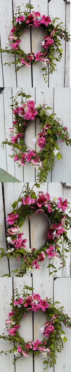 Wreaths 16498: Wreath Twig Base Morning Glory , Artificial Flower Country Home Decor -> BUY IT NOW ONLY: $32.99 on eBay!