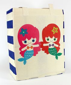 Look at this Mermaid Friends Tote on #zulily today!
