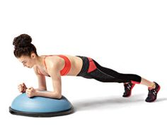 Quick Bosu Ball Workout   Fitness for Men and Women