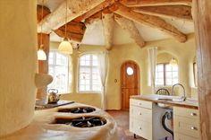 Cob house in Dyssekilde Ecovillage, Denmark
