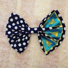 Tri Delta bow