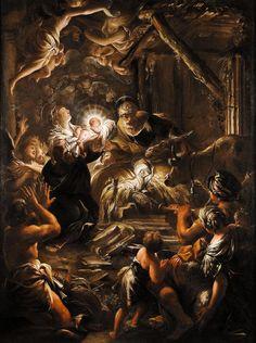 Domenico Piola, The Adoration of the Shepherds, c. 1640s