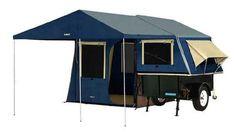 OZtrail Ridgeline Zenith trailer tent