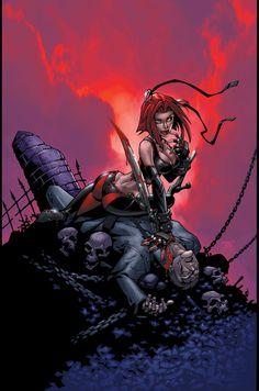 27 Best Bloodrayne Images Rayne Comic Art Comics Girls