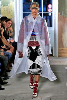 London Fashion Week Forecasts Chicer Raincoats for All - Burberry from InStyle.com