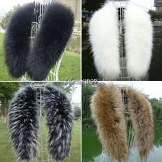 Winter Fashion Luxury Faux Fur Collar Scarf Warm Warmer Shawl Wrap Stole BF9. $10.32 free shipping