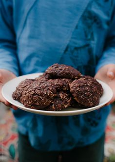 Chocolate Oatmeal Cookies | Kitchen Confidante