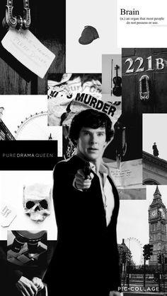 The Wallpaper which doesn't lower the I. Sherlock Fandom, Sherlock John, Bbc Sherlock Holmes, Quotes Sherlock, Sherlock Tumblr, Sherlock Season 4, Sherlock Poster, Molly Hooper Sherlock, Sherlock Moriarty